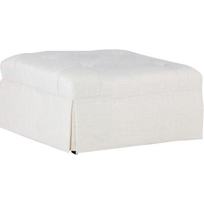 Jae Square Ottoman Upholstery: Cream