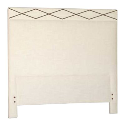 Thayer Upholstered Panel Headboard Size: King, Upholstery: Cream