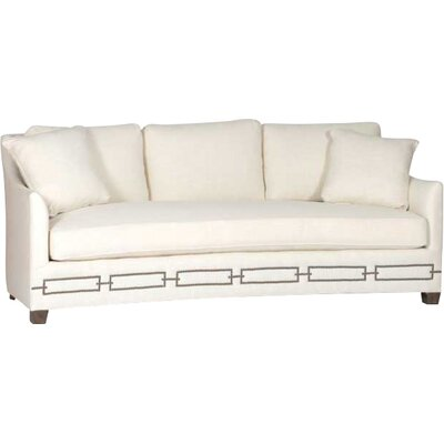 Baldwin Curved Back Sofa Upholstery: Gray