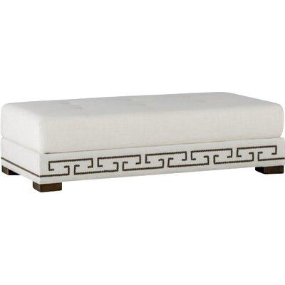 Kenzie Ottoman Upholstery: Cream