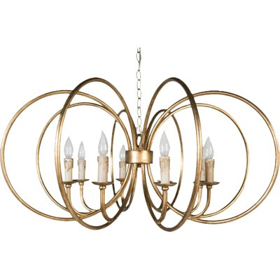 Alta 8-Light Candle-Style Chandelier