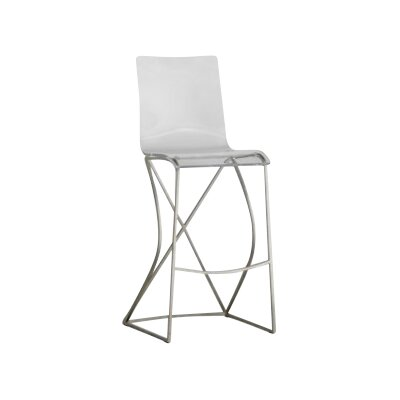 Johnson 30 Bar Stool Color: Antique Silver