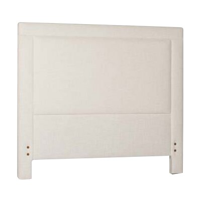 Sloan Upholstered Panel Headboard Size: Twin, Upholstery: Cream
