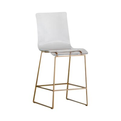 King 23.45 Bar Stool Finish: Antique Gold