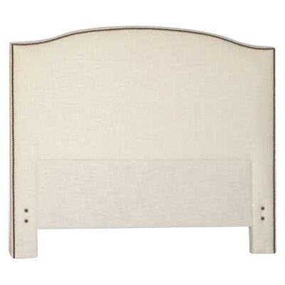 Maxwell Upholstered Panel Headboard Size: King, Upholstery: Gray