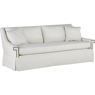 Jacyln Bench Cushion Sofa Upholstery: Cream