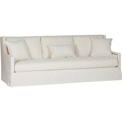 Helena High Back Sofa Upholstery: Cream