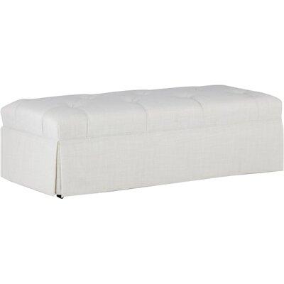 Jae Ottoman Upholstery: Cream
