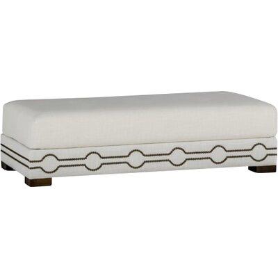 Keran Ottoman Upholstery: Cream