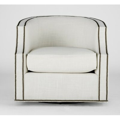 Willow Swivel Barrel Chair Upholstery: Kasler Cream