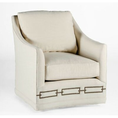 Baldwin Swivel Armchair Upholstery: Kasler Cream