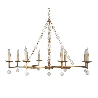 Carrie 8-Light Candle-Style Chandelier