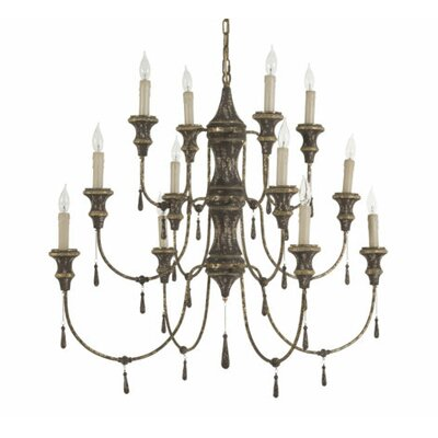 Durham 12-Light Candle-Style Chandelier