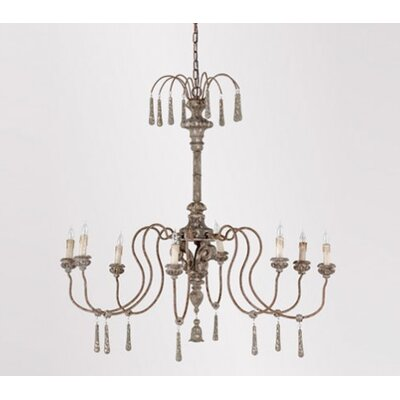 Vincent 8-Light Candle-Style Chandelier