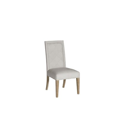 Verona Stacking Dining Upholstered Dining Chair Frame Color: Natural