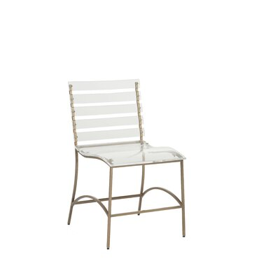Ellen Dining Chair Frame Color: Gold