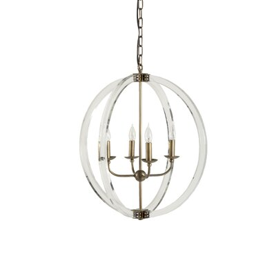 Grayson 4-Light Candle-Style Chandelier