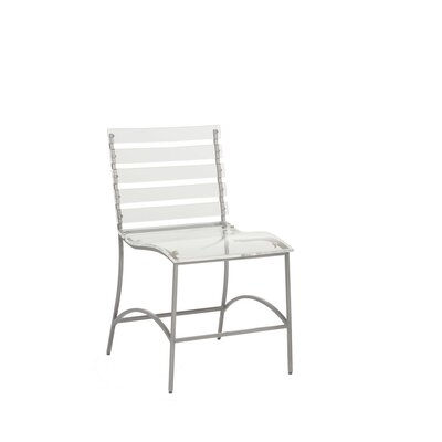 Ellen Dining Chair Frame Color: Silver
