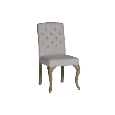 Avignon Stacking Dining Upholstered Dining Chair Color: Burnished Oak