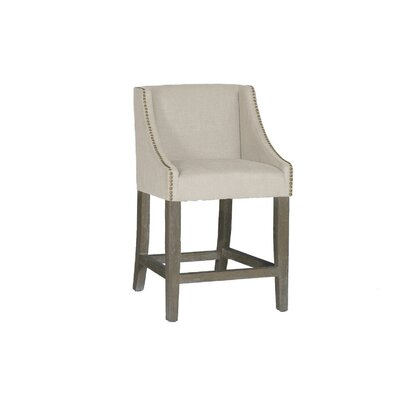 Winston 24.5 Bar Stool Color: Burnished Oak