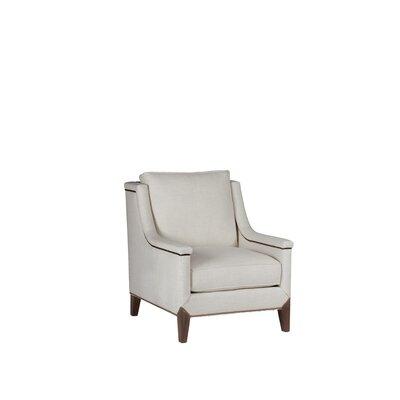 Liam Armchair Upholstery: Linen Dove