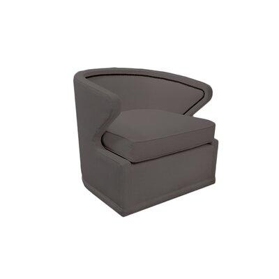 Monroe Swivel Barrel Chair Upholstery: Savvy Caviar