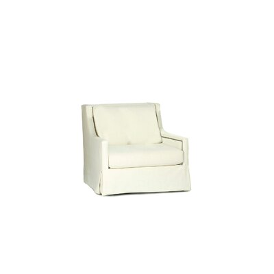 Helena Swivel Armchair Upholstery: Kasler Cream