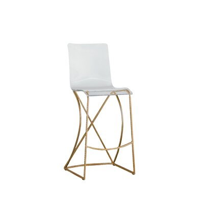 Johnson 30 Bar Stool Color: Antique Gold