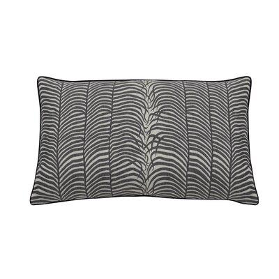 Summer Sulu Indoor/Outdoor Lumbar Pillow (Set of 2) Color: Midnight