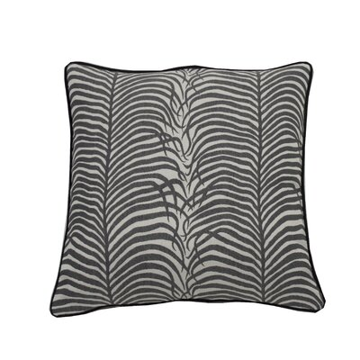 Summer Sulu Indoor/Outdoor Throw Pillow (Set of 2) Color: Midnight, Size: 20 x 20