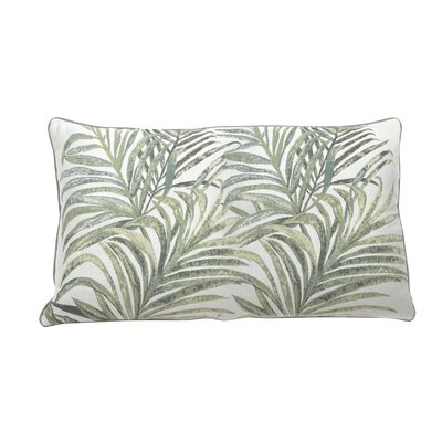 Tropico Indoor/Outdoor Lumbar Pillow (Set of 2) Color: Mist