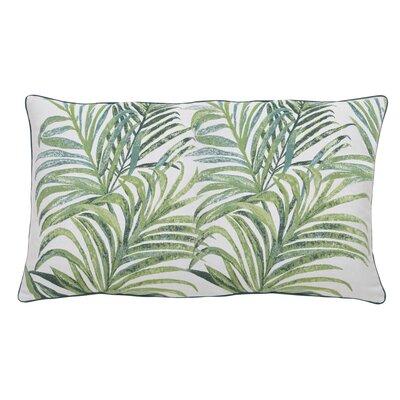 Tropico Indoor/Outdoor Lumbar Pillow (Set of 2) Color: Peacock