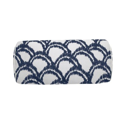 Alena Indoor/Outdoor Bolster (Set of 2) Color: Indigo