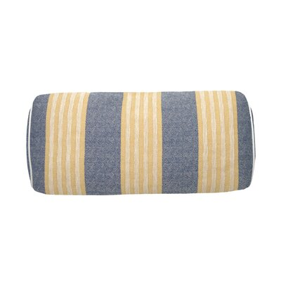 Bradford Indoor/Outdoor Bolster (Set of 2) Color: Navy