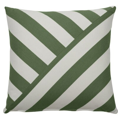 Halo Indoor/Outdoor Throw Pillow (Set of 2) Color: Kelly, Size: 24 x 24