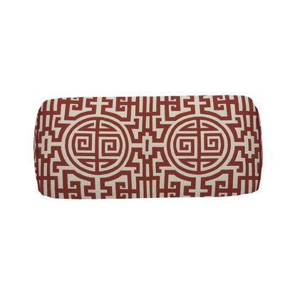 Nobu Indoor/Outdoor Bolster (Set of 2) Color: Cajun