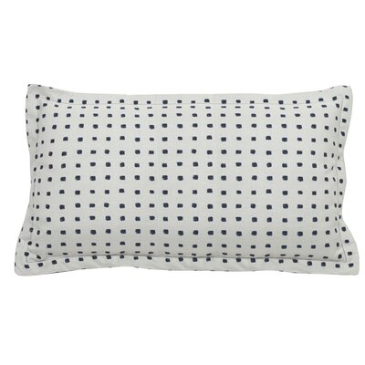 Kuno Indoor/Outdoor Lumbar Pillow (Set of 2) Color: Indigo