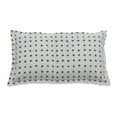 Kuno Indoor/Outdoor Lumbar Pillow (Set of 2) Color: Peacock
