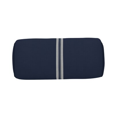 Vintage Indoor/Outdoor Bolster (Set of 2) Color: Navy