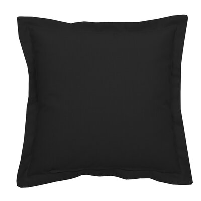 Linen Indoor/Outdoor Lumbar Pillow (Set of 2) Color: Midnight