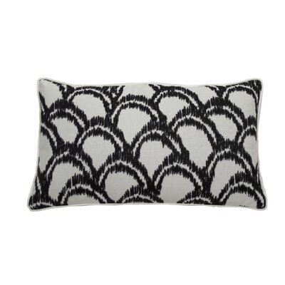 Alena Indoor/Outdoor Lumbar Pillow (Set of 2) Color: Midnight