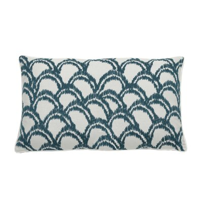 Alena Indoor/Outdoor Lumbar Pillow (Set of 2) Color: Peacock