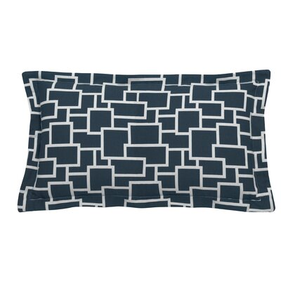 Magnitude Indoor/Outdoor Lumbar Pillow (Set of 2) Color: Peacock