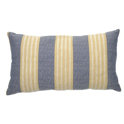 Bradford Indoor/Outdoor Lumbar Pillow (Set of 2) Color: Navy