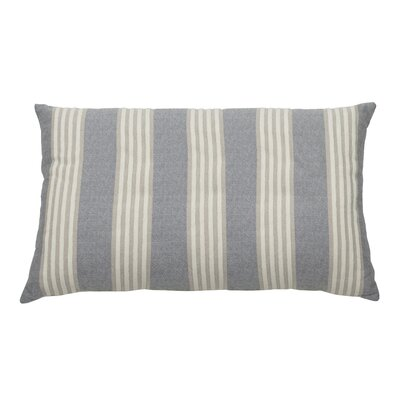 Bradford Indoor/Outdoor Lumbar Pillow (Set of 2) Color: Stone