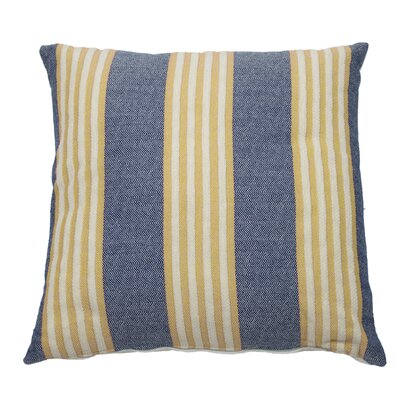 Bradford Indoor/Outdoor Throw Pillow (Set of 2) Color: Navy, Size: 20