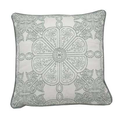 Cape May Garden Indoor/Outdoor Throw Pillow (Set of 2) Color: Mist, Size: 24 x 24