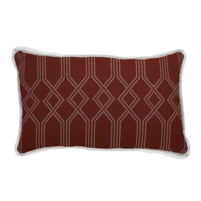 Connection Indoor/Outdoor Lumbar Pillow (Set of 2) Color: Cajun