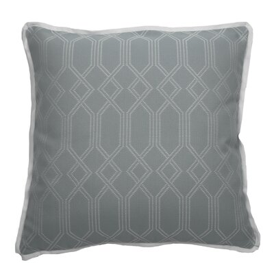 Connection Indoor/Outdoor Throw Pillow (Set of 2) Color: Mist, Size: 24 x 24