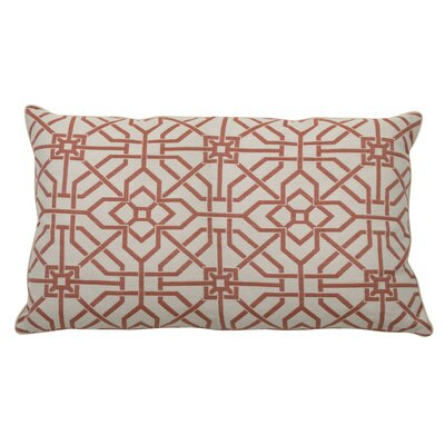 Port Palace Indoor/Outdoor Lumbar Pillow (Set of 2) Color: Cajun